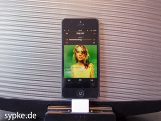 Apple Lightning Dock Adapter - iPhone5 an einem Sony Soundsystem
