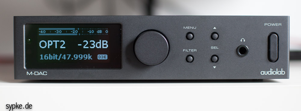 audiolab M-DAC im Test / Review
