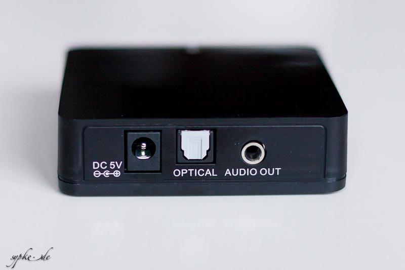 test bluetooth audio receiver von inakustik sypke. Black Bedroom Furniture Sets. Home Design Ideas