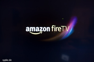 amazon FireTV - Der Einschalt-Bildschirm