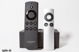 Zufall? Die Fernbedienung vom fireTV sieht der vom Apple TV erstaunlich ähnlich genau wie....