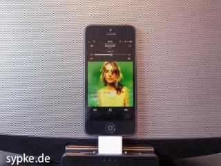 Apple Lightning Dock Adapter - iPhone5 an einem Sony Soundsystem