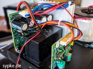 Aktiver Studiomonitor IMG Stage Line SOUND-65/SW Endstufe und PCB