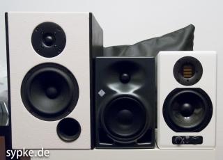 In Reih und Glied : ADW SB 18, Neumann KH 120 A, Adam Audio Artist 5