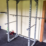 Projekt HomeGym : das Power Rack ist da