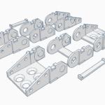 Free STL – Energiekette / Schleppkette für DIY Projekte