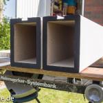 DIY : Lautsprecherständer für Adam Audio Artist 5 im Eigenbau